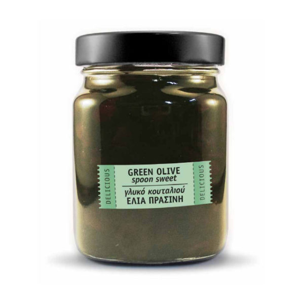 Γλυκό Κουταλιού Με Πράσινες Ελιές