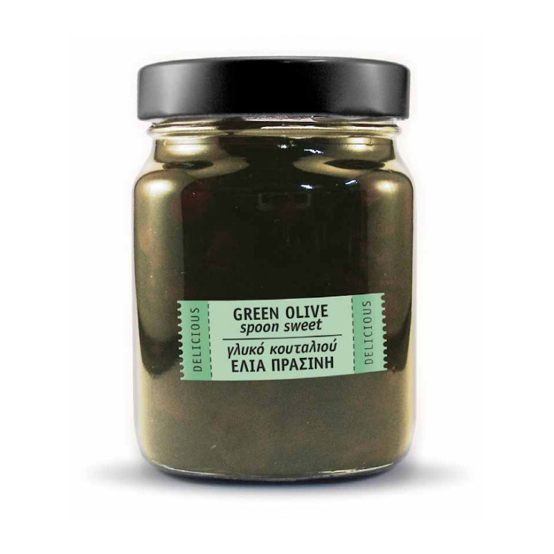 Green Olives Spoon Sweet
