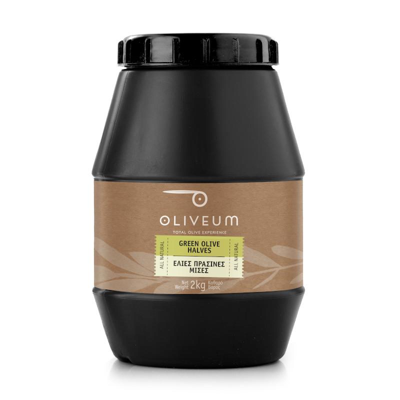 Green Olives Halves 2kg
