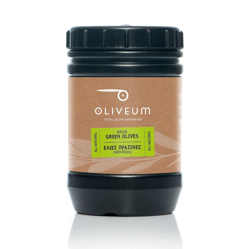 Whole Green Olives 1kg