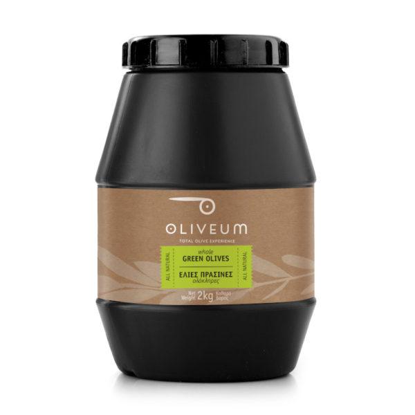 Πράσινες Ελιές Ολόκληρες 2kg