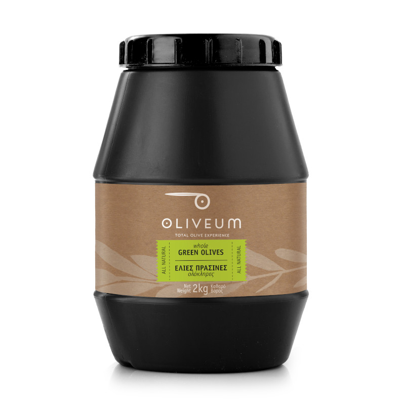 Whole Green Olives 2kg